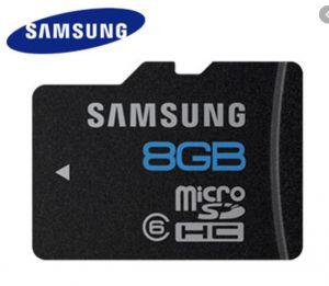 Samsung 8 Gb Micro SD Card