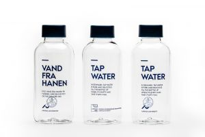 Vandflaske, bæredygtig UK, minimum 50 stk